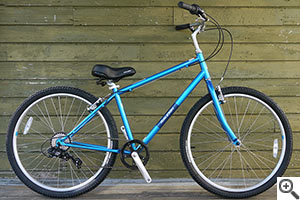 Deck deal bike